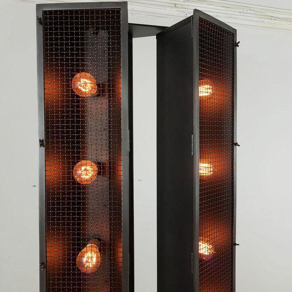 Restoration Hardware Industrial Floor Lamp - Image 3 of 9