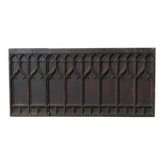 Antique Gothic Panel For Sale