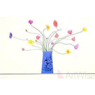 Ed Baynard-Italian Poppies-1996-Serigraph For Sale