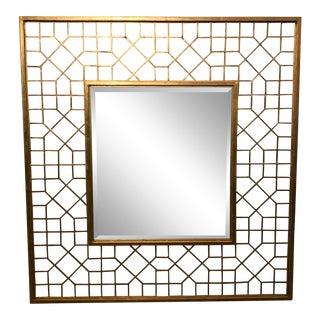 Modern Interlude Home Harper Grand Gold Mirror For Sale