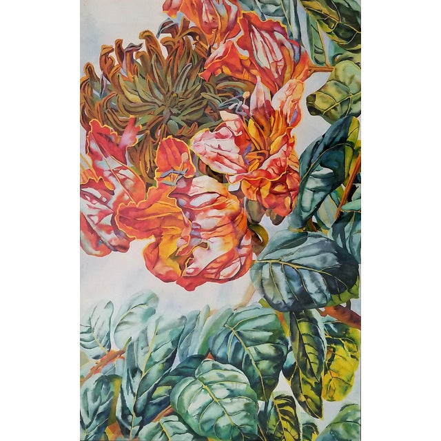 Art Museum Quality Watercolor Painting by Patricia Tobacco Forrester For Sale - Image 13 of 13