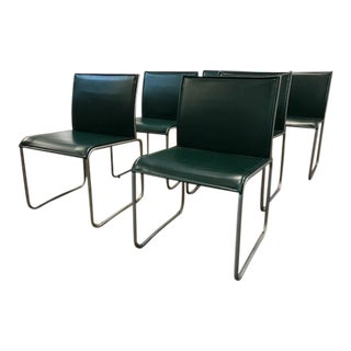 Set of 6 Signed Knoll Dining Chairs