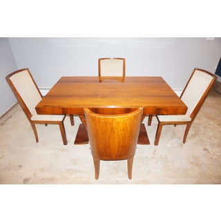Mid-Century Modern Rosewood Extension Dining Set - 5 Pieces Preview