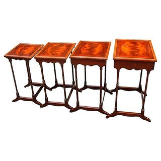 Schmieg & Kotzian Nesting Tables - Set of 4 For Sale