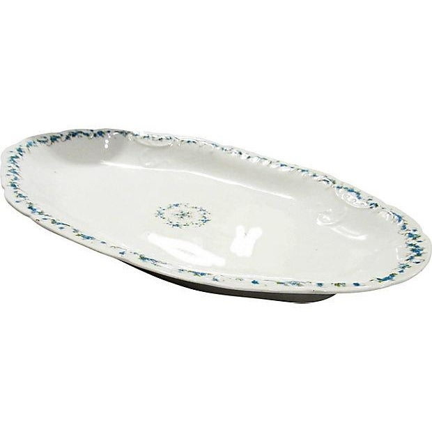 Traditional Antique Austrian Serving Platter For Sale - Image 3 of 4