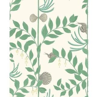 Cole & Son Secret Garden Wallpaper Roll - Dark Green For Sale