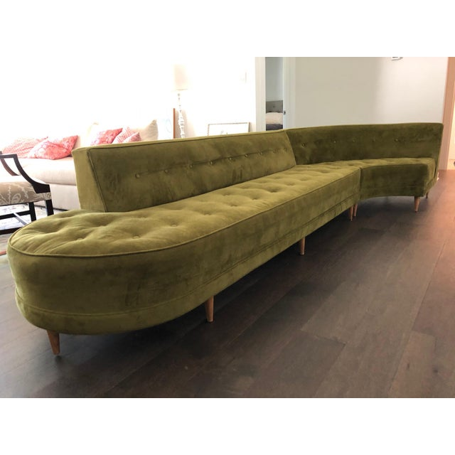 1950s Jay Spectre Custom-Designed 1954 Sofa - Set of 3 For Sale - Image 13 of 13