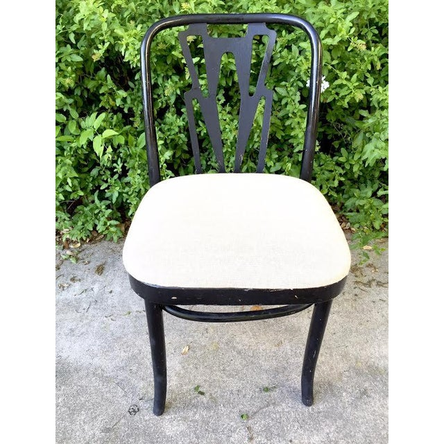 Vintage Cafe Dining Chairs - Set of 7 - Image 4 of 9