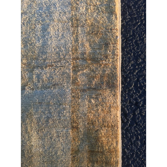 Persian Vintage Sultanabad Rug - 4′ × 5′8″ - Image 10 of 11