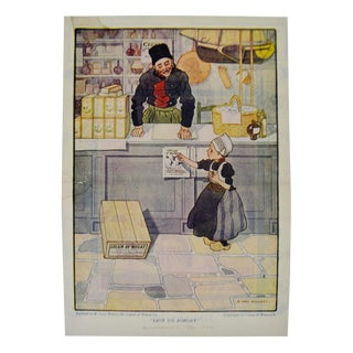 1922 Cream of Wheat Print Ad, Lest We Forget, Cory Kilvert Art