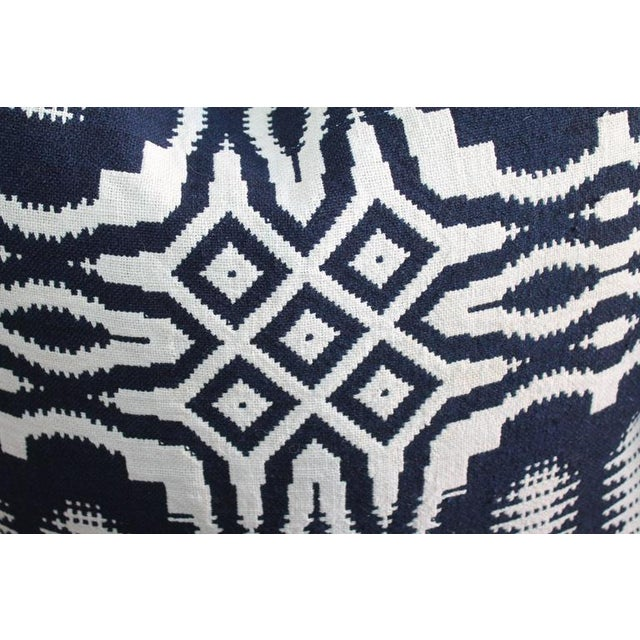 19th Century Handwoven Jacquard Coverlet Pillows For Sale - Image 9 of 10