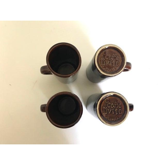 Caffe d'Vita Espresso Mugs - Set of 4 - Image 2 of 4