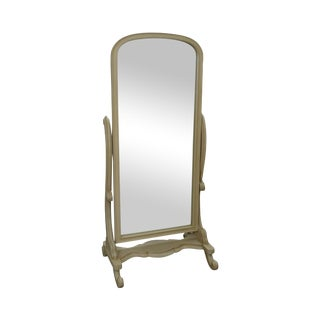 Painted Beveled Glass Cheval Mirror