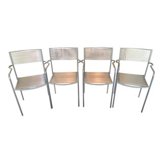 Giandomenico Belotti Spaghetti Chairs - Set of 4 For Sale