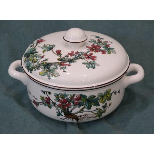 Ceramic Vintage Villeroy & Boch Botanica Covered Vegetable Serving Bowl For Sale - Image 7 of 7