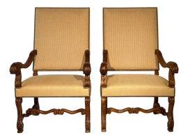 Image of Mediterranean Corner Chairs