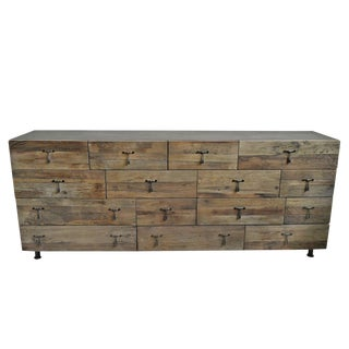 Modern Salvaged Dresser Sideboard For Sale