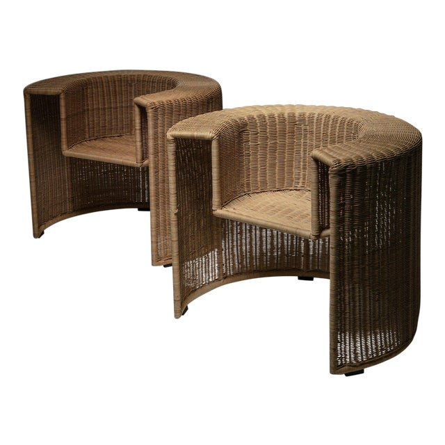"""Pair of """"Charlotte"""" Chairs by Mario Botta for Horm For Sale"""