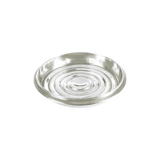 Coined Edged Bottle Coaster Nickel-Plated Brass For Sale