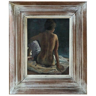 1950s Mid-Century Modern Nude by Virginia Emmons For Sale