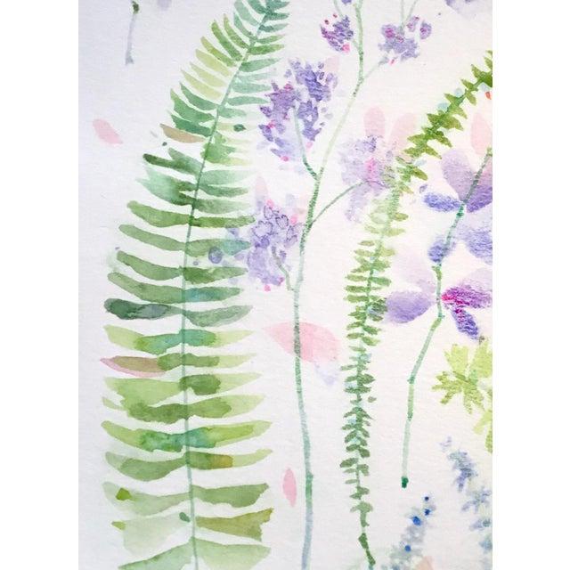 Original watercolor painting on Caslon paper, Botanical art