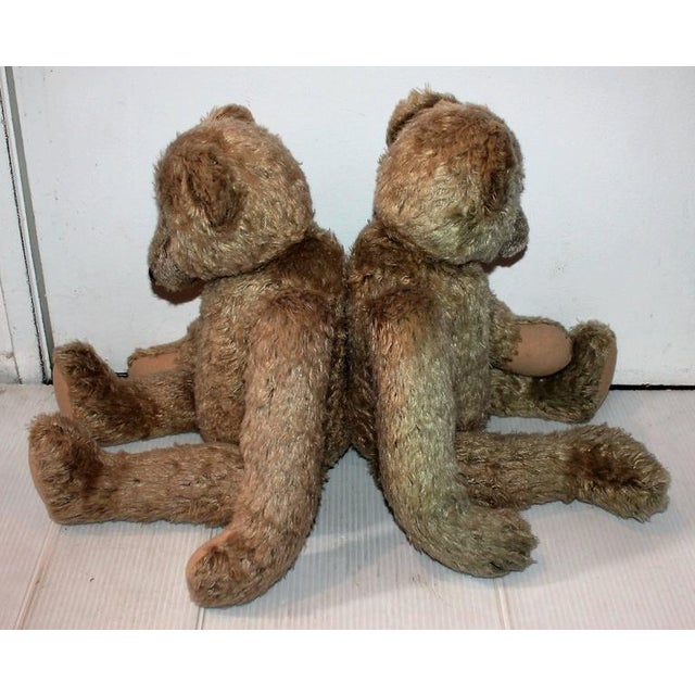 Pair of Folky Teddy Bears Made for Harrods of London - Image 4 of 8