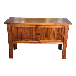 Solid Wood Console Table With Storage