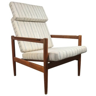 Classic Danish Modern Lounge Chair Børge Jensen & Sønner For Sale