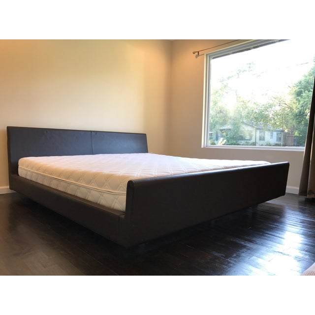Loja Leather King Bed ** Final Markdown or It Goes to Goodwill ** - Image 2 of 6