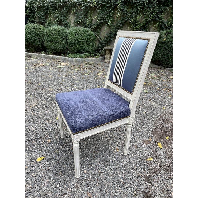 Bernhardt Set of Seven Dining Chairs by Bernhardt For Sale - Image 4 of 13