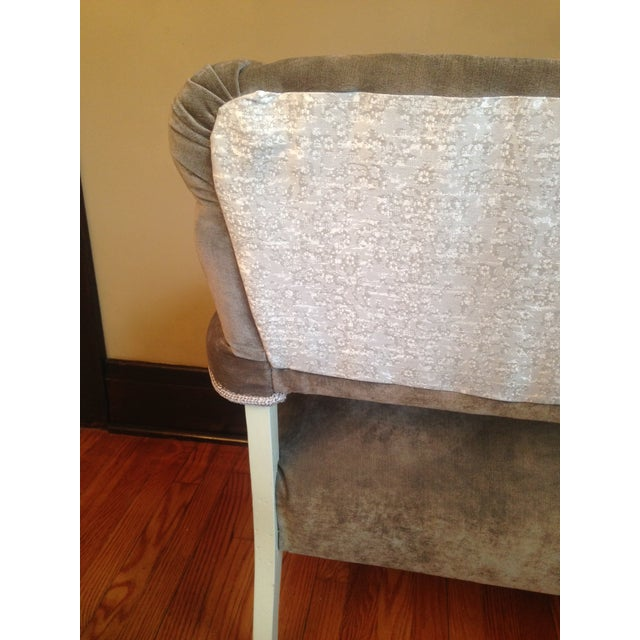 Newly Upholstered Settee - Image 8 of 8