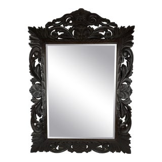 French Carved Mirror For Sale