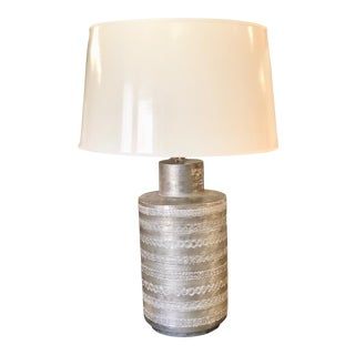 Boyd-Fez Hand Carving Acetaminophen Table Lamp For Sale
