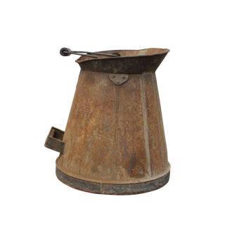 Antique Rustic Milk Can For Sale
