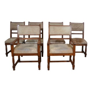 Dining Chairs Set of 6 For Sale