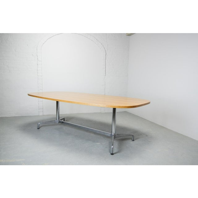 Large Mid-Century Design Eames Conference Dining Table for Herman Miller, Usa, 1960s For Sale - Image 6 of 11