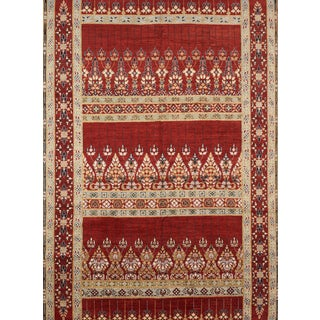 Schumacher Meetra Area Rug in Hand-Knotted Wool Silk, Patterson Flynn Martin For Sale