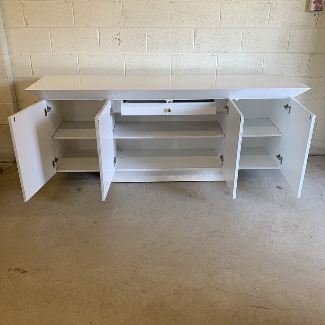 Large Contemporary Credenza For Sale - Image 4 of 9