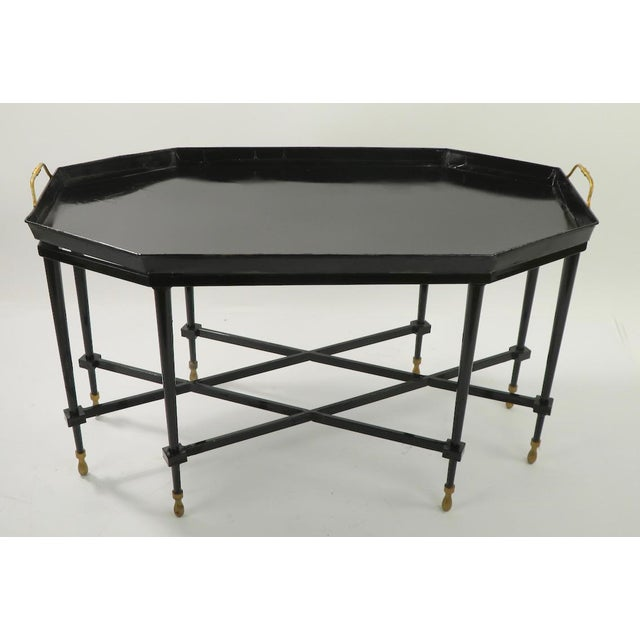 1950s 1950s Italian Tray Top Cocktail Table For Sale - Image 5 of 12
