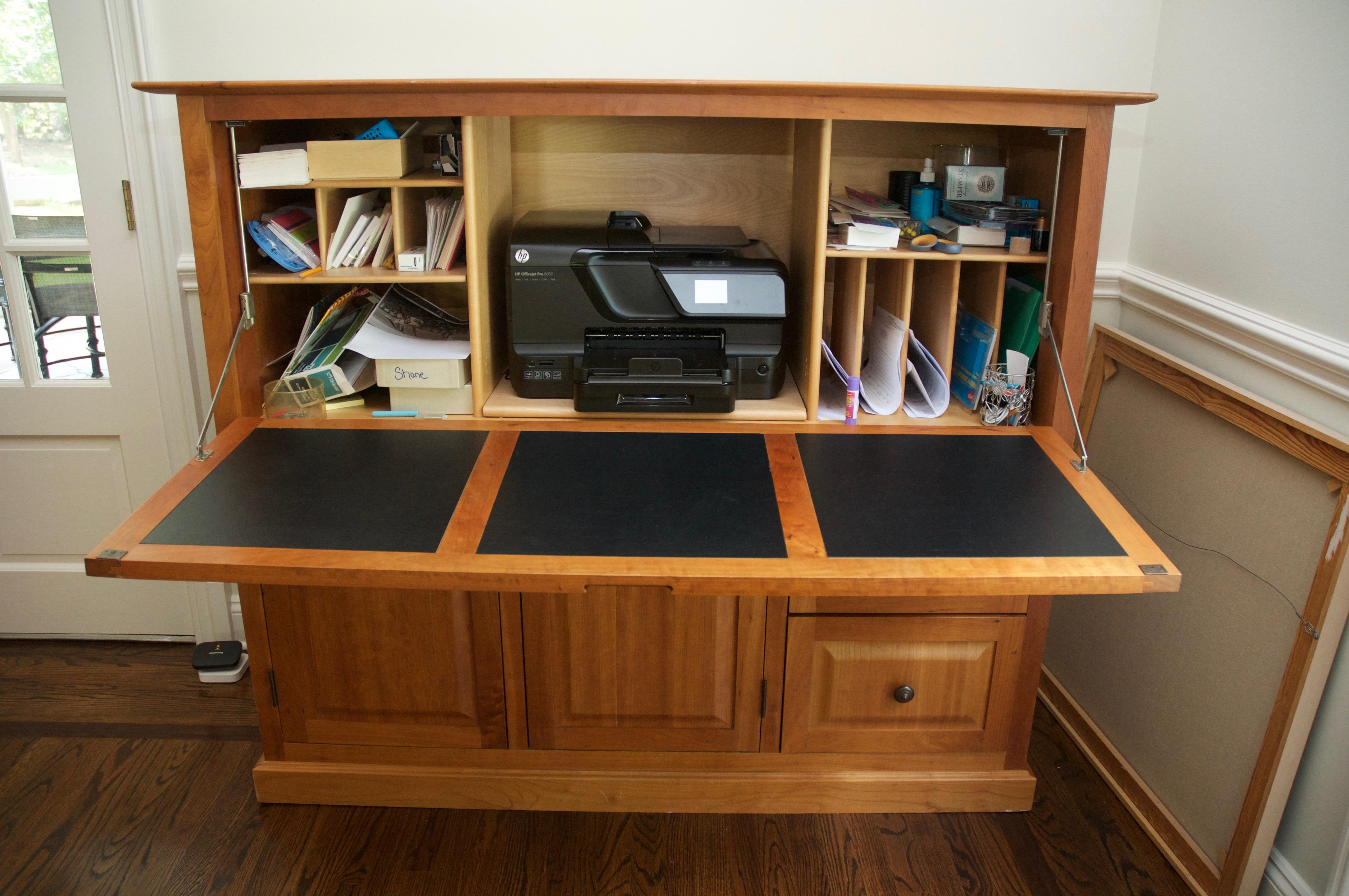 hide away furniture. Copeland Furniture Cherry Wood Hideaway Desk - Image 4 Of 10 Hide Away E