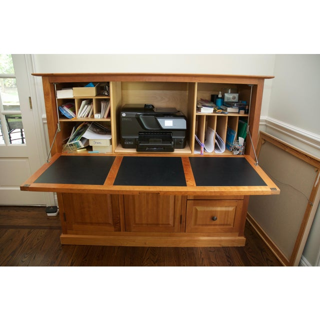 collection desks hidden walnut desk hide or best the images hideaway for shiro saxenfurniture home office on furniture away