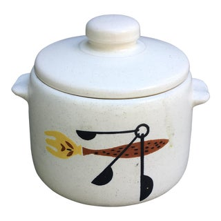 Hot-Cold Mid-Century Servingware