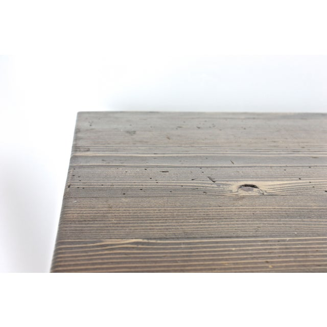 Rustic Industrial Side Table - Image 7 of 7