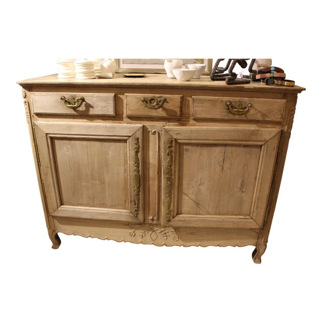 Early 19th Century Bleached French Buffet For Sale