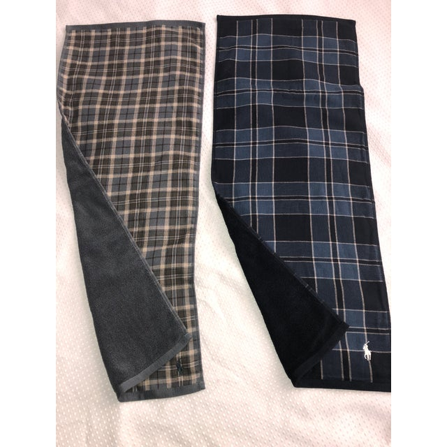 Ralph Lauren Tartan Plaid Polo Hand Towels - Image 3 of 6