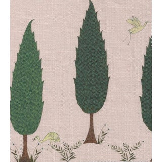 Tranquility Fabric in Blossom Pink, Sample For Sale