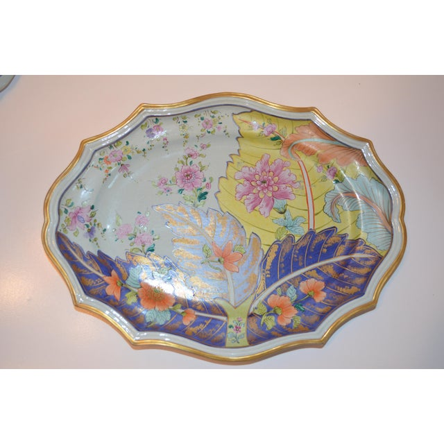 Mid-Century Mottahedeh Tobacco Leaf Tureen For Sale - Image 12 of 13