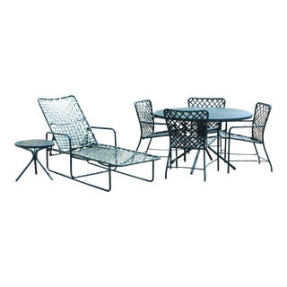 Mid-Century Modern Brown Jordan Patio Set