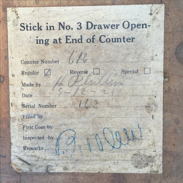 Early 1900s Country Store Bean Counter - Image 3 of 8