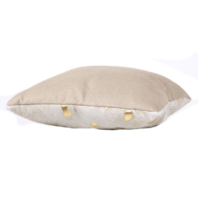 Gilded Hide Pillow - Image 3 of 3